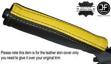 Nero & Giallo in pelle e del freno di emergenza MANIGLIA cover si adatta Camaro Firebird 93-02