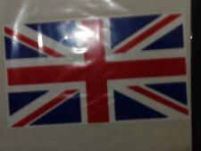 BRITISH UNION JACK  FLAG JEEP LAND ROVER VEHICLE  STICKER