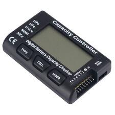 Digital Battery Capacity Tester Checker Controller LCD For LiPo NiMH Li-ion New
