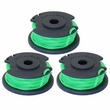 "Ryobi One+ .080"" Twisted Line and Spool  for RYOBI 18/24/40V Trimmer 3-pack"