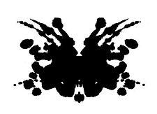 Stampa incorniciata-PSICOLOGIA inkblot ART (PICTURE POSTER Salute Mentale Mind Yoga)