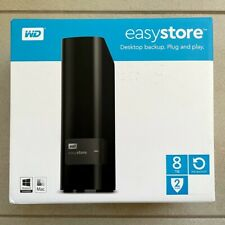WD Western Digital - Easystore 8TB External USB 3.0 Hard Drive WD80EFAX Red