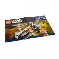 1x Lego Bauanleitung Star Wars Clone Wars Clone Trooper Battle Pack 7913