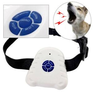 Collier Anti-aboiement pour chien, répulsif ultrasonique, dispositif de contrô