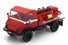 Mercedes Unimog 404 Cisterna forestal 1:43 Ixo Hachette CAMION bomberos Diecast