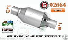 "92664 Eastern Universal Catalytic Converter ECO III Catalyst 2"" Pipe 8"" Body"