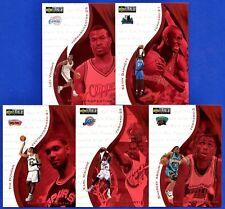 1997-98 Garnett/Tim Duncan Hot Properties Lot of 5 Upper Deck Choice Basketball
