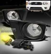 12-15 TOYOTA TACOMA PICKUP BUMPER FOG LIGHTS LAMP+3000K HID+COVER+HARNESS+SWITCH