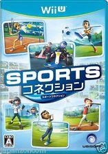 Sports Connection NINTENDO WII U JAPANESE NEW JAPANZON