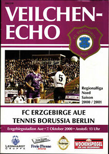 RL 2000/2001 FC Erzgebirge Aue - Tennis Borussia Berlin, 07.10.2000