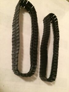 19 mm double grouser Metal Tracks 1:50 Scale.