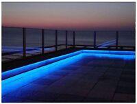 5M - 16ft RGB Colour Changing LED Decking Plinth Lights Garden Deck Kitchen