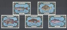 POISSON Libye 5 val de 1975 ** FISH FISCH PESCE