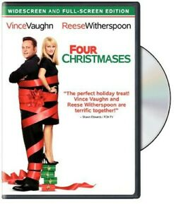 DVD Vince Vaughn & Reese Witherspoon FOUR CHRISTMASES Widescreen & Full