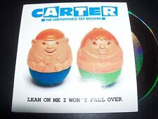 Carter The Unstoppable Sex Machine Lean On Me Australian Card Sleeve CD Single