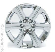 "NEW Chevy Silverado Avalanche Factory OEM 22"" Chrome Wheels Rims Lugs CK157"