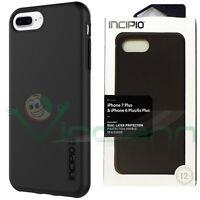 """Custodia cover INCIPIO DualPro pr iPhone 8 7 Plus 6 6S 5.5"""" case silicone+rigida"""