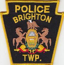 BRIGHTON POLICE SHOULDER PATCH PENNSYLVANIA PA