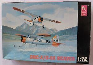 model aircraft kits 1/72 Hobby Craft DHC-2/U-6A Beaver