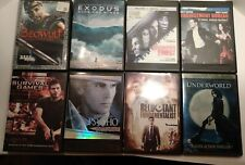 New listing Lot Of 8 Dvds, Action/Thriller, Ex-Rentals, American Psycho, Survival Games