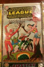 Justice League of America #9 DC Comics February 1962 Very Good Condition