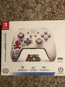 Nintendo Switch PowerA Rechargeable Wireless Controller - Running Super Mario