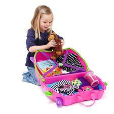 Trixie Trunki maleta infantil rosa correpasillos equipaje de mano viaje niños