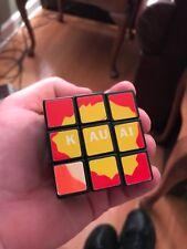 HAWAII Cube 3x3 USED rubics rubix puzzle Brain Teaser GENUINE w Hawaii's Islands