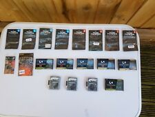 Various packets of carp fishing hooks Korda, Nash, Gardener.