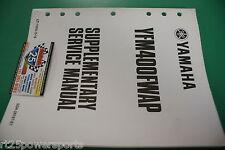 Yamaha YFM400NP YFM400 YFM Supplement Service Repair Manual Big Bear