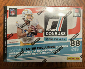 2021 Panini Donruss Football Sealed 8-Pack Blaster Box - Fanatics Exclusive
