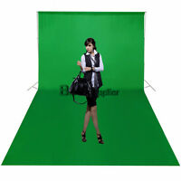 10x15 ft Photo Studio Green Muslin Backdrop Screen Chromakey Cotton Background