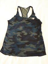 New Balance Ladies Camo Running/Gym Vest size 12
