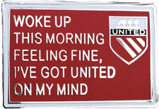 Svegliato stamattina sentirsi BELLE BADGE-MUFC