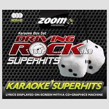 Zoom Karaoke CDG Driving Rock Superhits - 3 Disc Set, 54 tracks CD+G