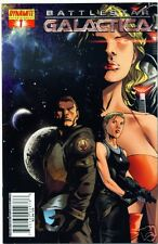 DYNAMITE THE NEW BATTLESTAR GALACTICA #1 COVER B BY BILLY TAN! STARBUCK! SIX! NM