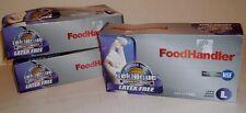 Foodhandler 103-Tnq16 Powder Free Latex Gloves Large 7 Boxes 100 Ea