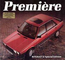 Renault 11 Premiere 1.4 Limited Edition 1985 UK Market Sales Brochure