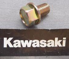 Genuine Kawasaki con brida Cabeza Hexagonal Tornillo De Drenaje De Aceite Acabado bzpy M10x14 130D1014