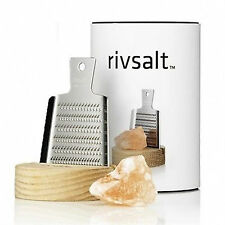 Rivsalt: set grattugia sale Himalaia con supporto legno (made Sweden)