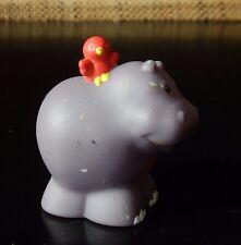 Fisher Price Little People Animal Figure ALPHABET Letter H Hippopotamus Hippo