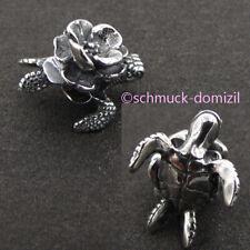 TROLLBEADS Silberbead Lotus Schildkröte - Turtle Flower - TAGBE-40115