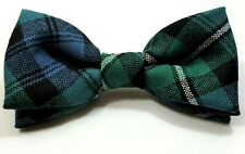BOW TIE TARTAN CAMPBELL OF ARGYLL ANCIENT 100% PURE WOOL KILT MADE IN SCOTLAND