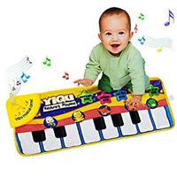 Musical Piano Play Mat Kid's Toy Baby Sensory Keyboard Educational Fun Music