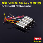 4PCS CW CCW Main Motor Engine Spare Parts For Syma X20 X20-S RC Quadcopter Drone