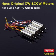 4pcs Original CW CCW Motor Engine for Syma X20 X20-S RC Quadcopter Spare Parts