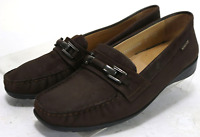 Mephisto Women's Cool Air $120 Loafers Size 9 Leather Brown