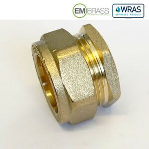 Compression 8mm 10mm 12mm 15mm 22mm 28mm Brass Blanking Stop End Cap WRAS