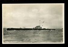 Navy NETHERLANDS Shipping ONDERZEEBOOT Submarine #18 RP PPC 1922