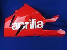 08 Aprilia RSV Mille Left Lower Fairing RASH INTACT 1000 Cowl Shroud Belly Pan